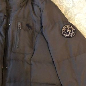 Abercrombie and Fitch down puffy parka